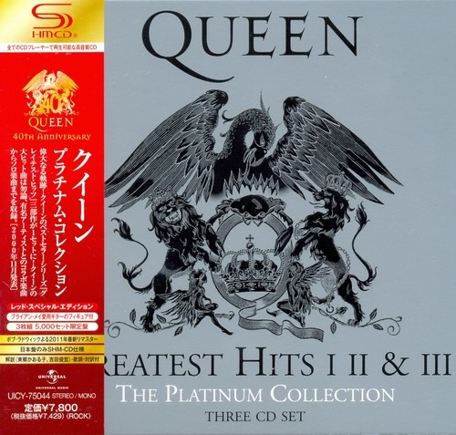 Queen - The Platinum Collection (3CD Box) 2011
