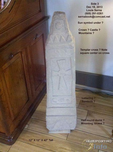 Столбы с крестами, найденные в Америке, – ключ к сокровищам тамплиеров